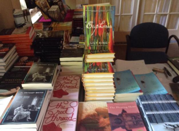 Kelly's Books to Go at Stonecoast Writers Conference 2014